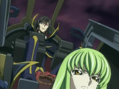 C.C. helps Lelouch out a lot. Like a lot.