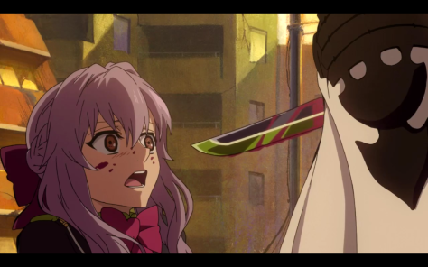 Not so composed now, eh, Shinoa?