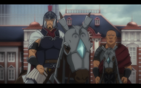Medieval mounted Japanese general in modern Tokyo. Sorry, what?