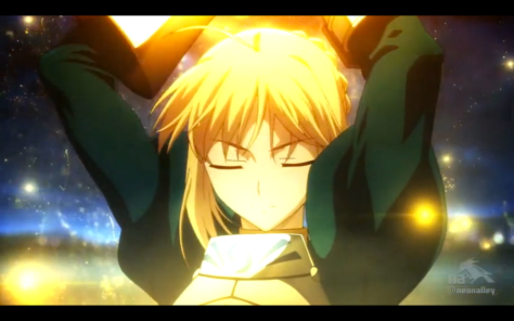 Saber actually has a vaguely skilful master in Fate/Zero.