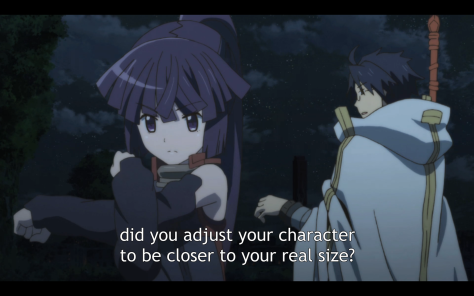It's not all serious in Log Horizon, just a lot of the time...