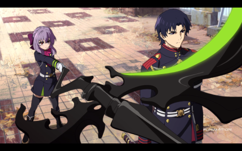 Shinoa and Guren. The two best characters on screen together in first minute - someone must agree with me.