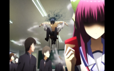 If nothing else, Angel Beats! is funny.