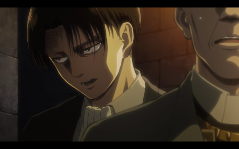 Levi doesn't get much show time through this first trailer.