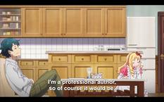 Good anime = good food.
