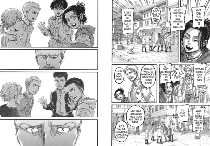 Attack on Titan chapter 93