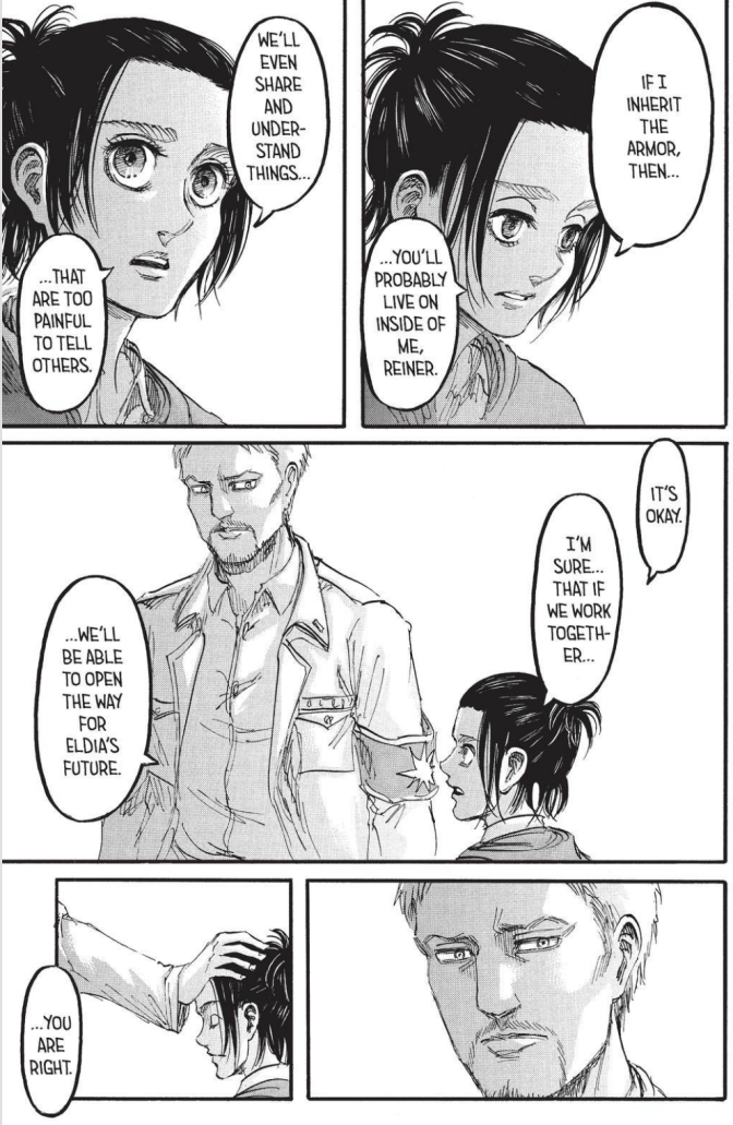 Attack on Titan chapter 95