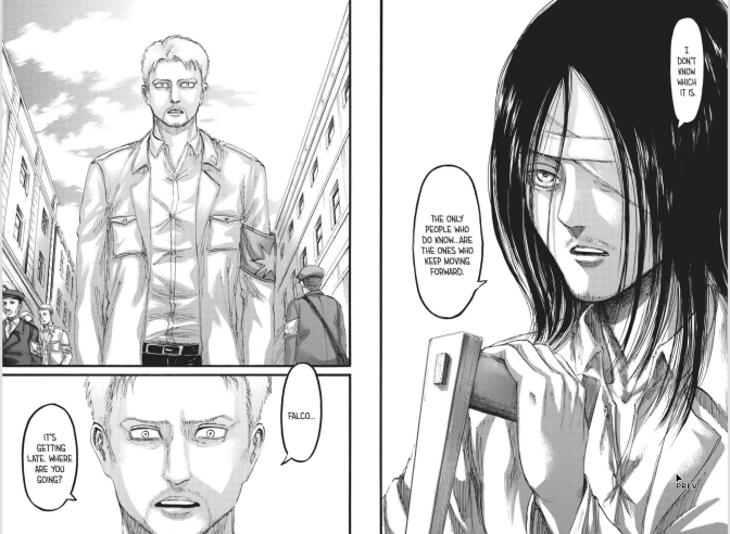 Attack on Titan chapter 97