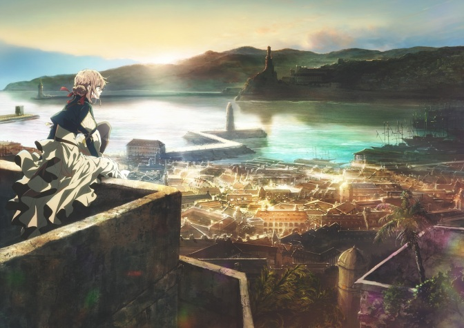 Violet Evergarden to begin airing from January 11th on Netflix